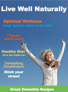 Live well naturall magazine cover